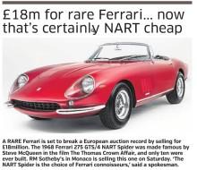 Ferrari 275 GTS/4 NART